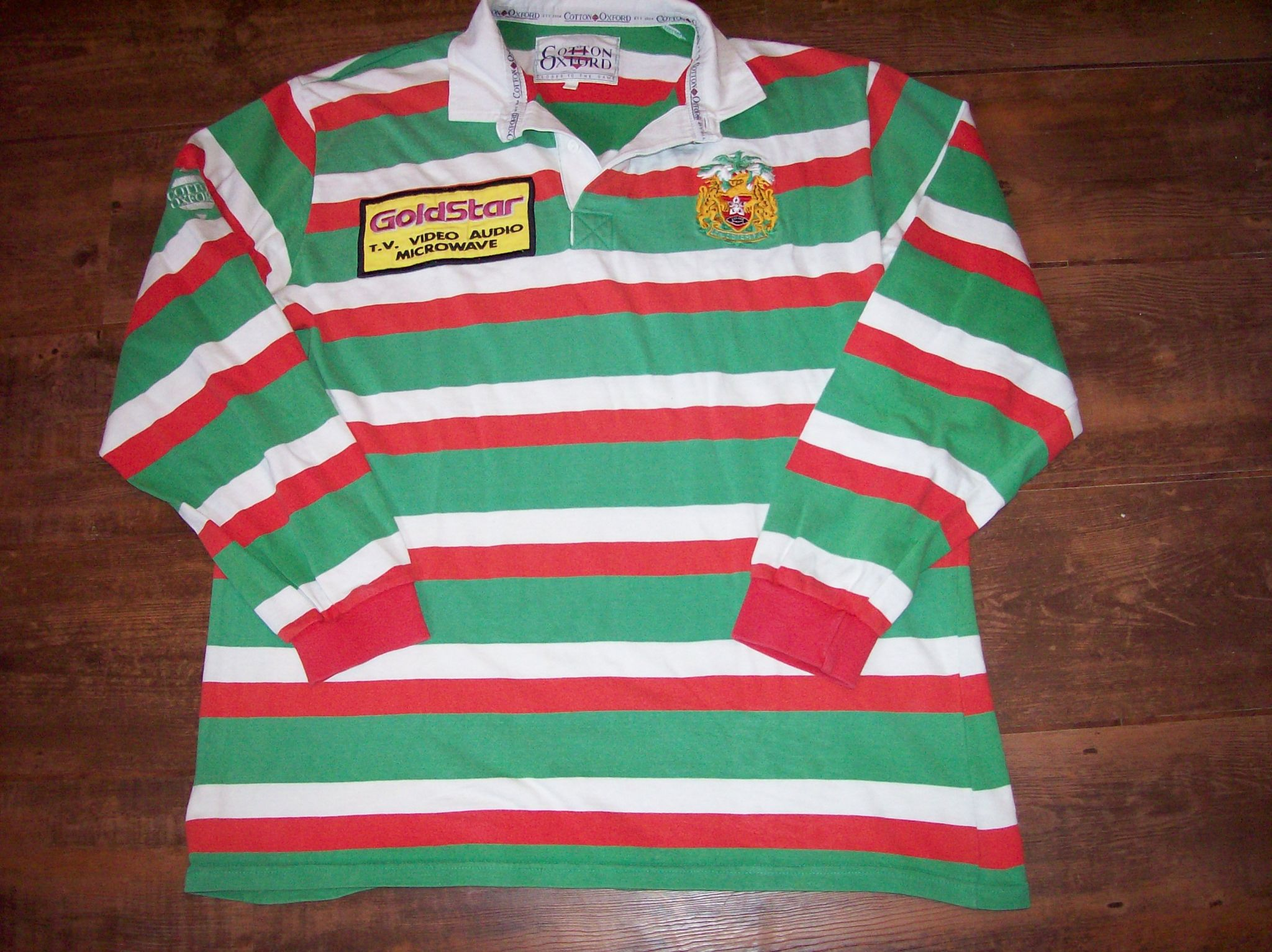 Classic rugby shirts leicester tigers vintage retro