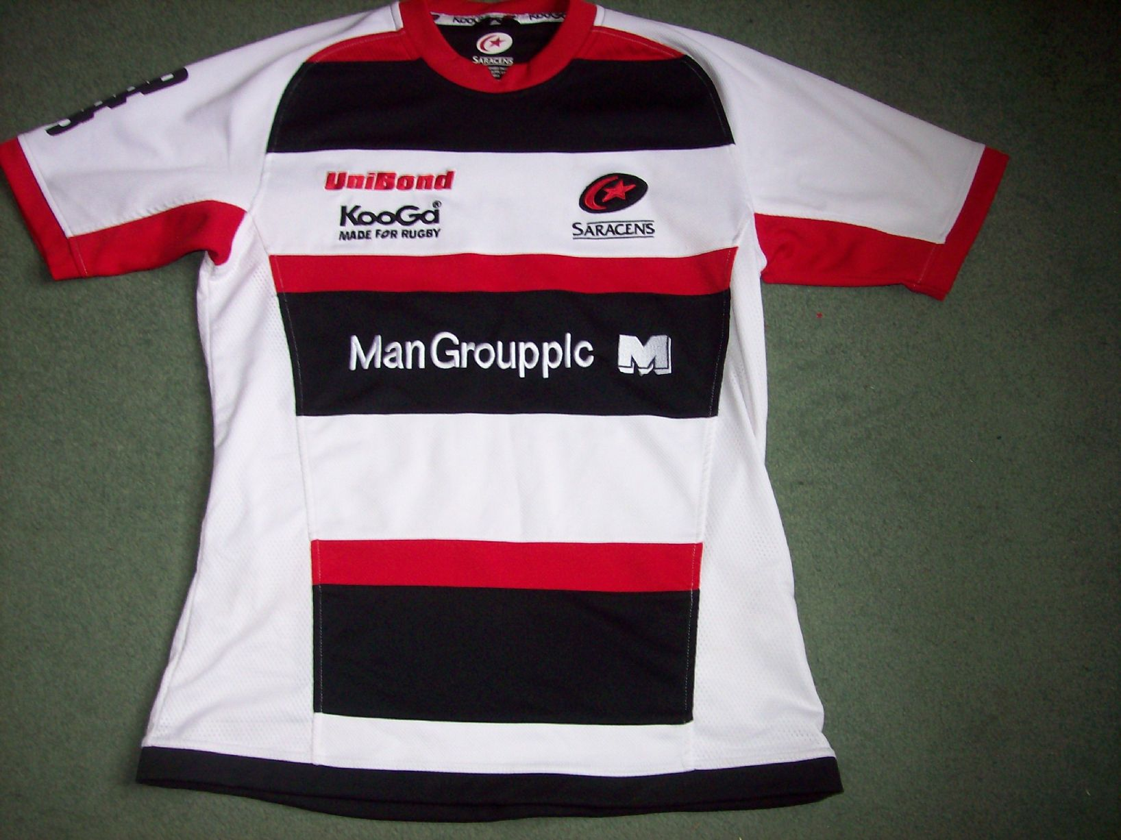 Saracens Rugby Shirt Rugby Union Shirt Top