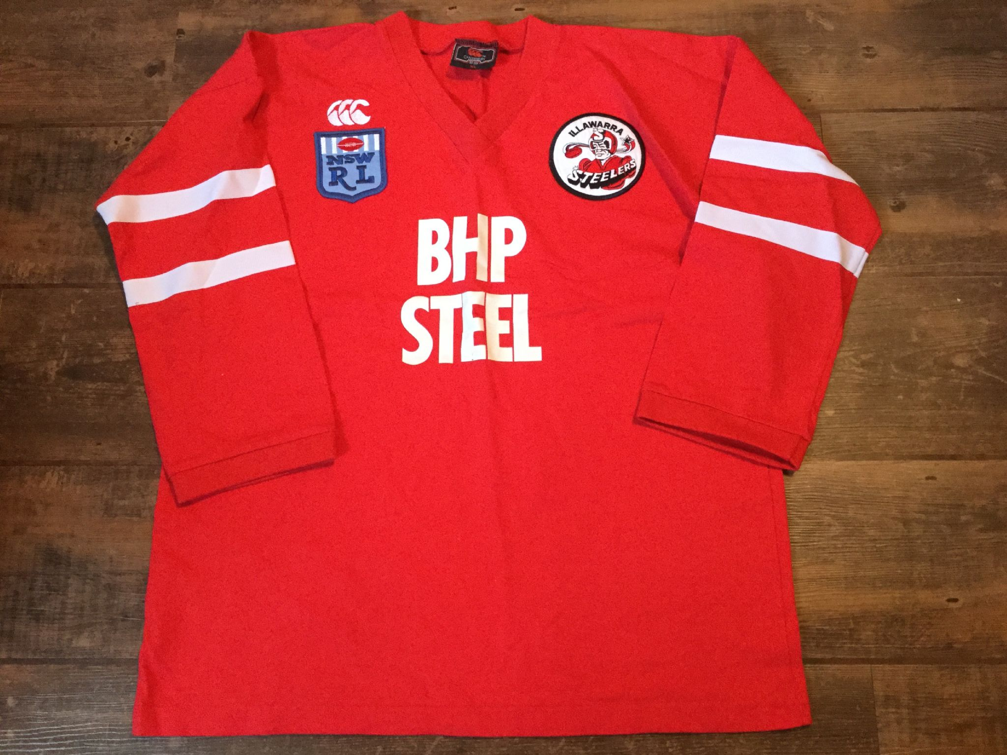 super cute 85245 074cd Classic Rugby Shirts | 1987 Illawarra Steelers Vintage Old ...