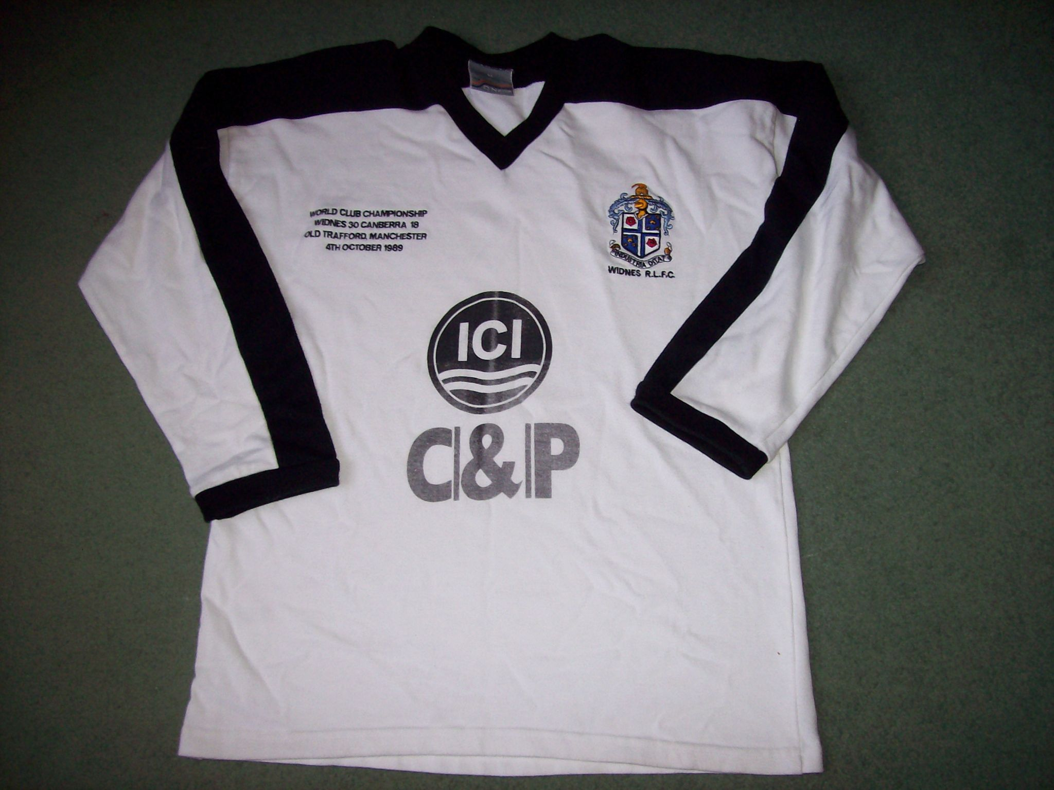 low priced 02c09 92c5d Classic Rugby Shirts : Widnes 1989 RL Old Vintage Jerseys