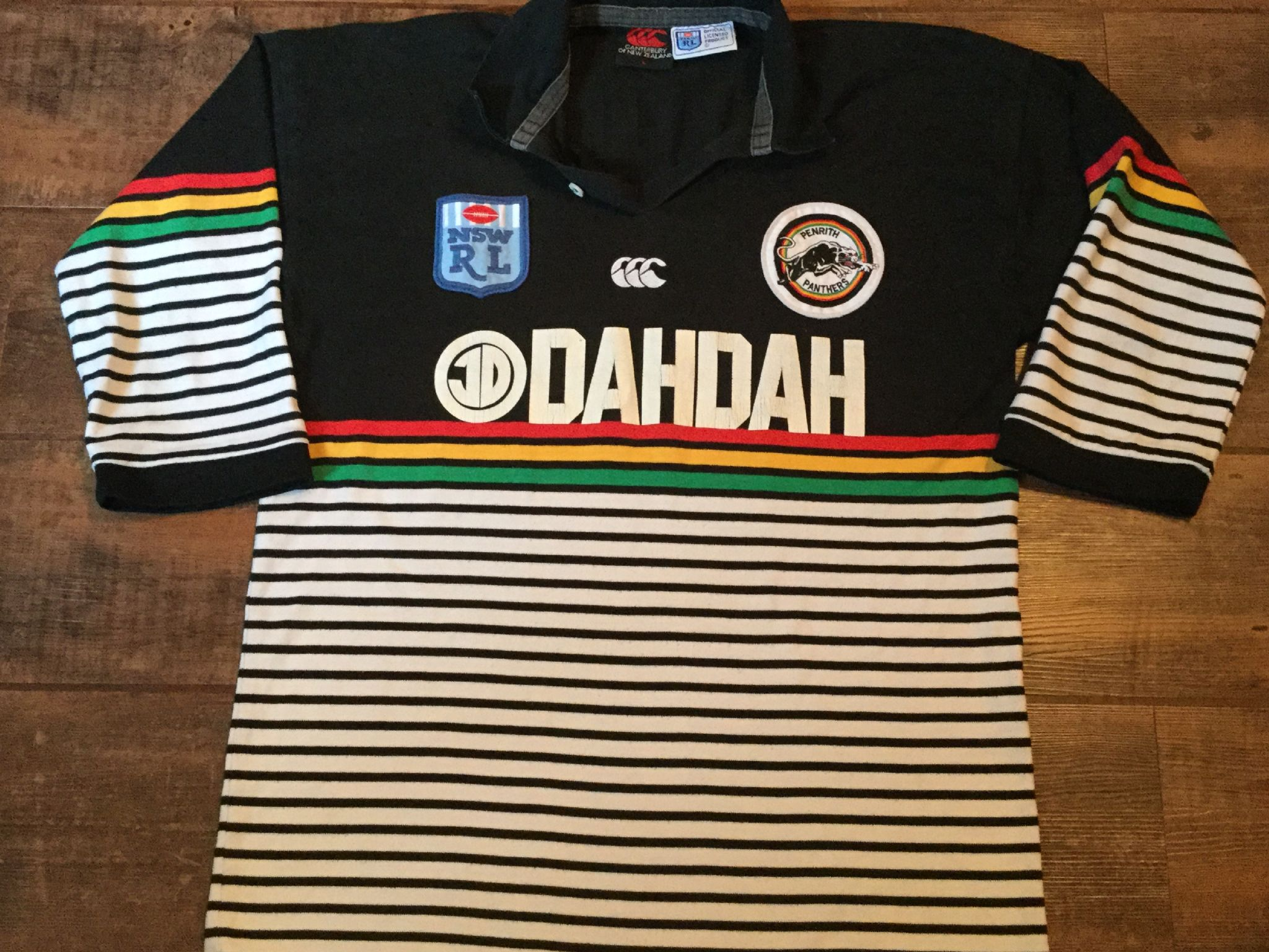 purchase cheap 9d41e b0b5a Classic Rugby Shirts | 1980's Penrith Panthers Vintage Old ...