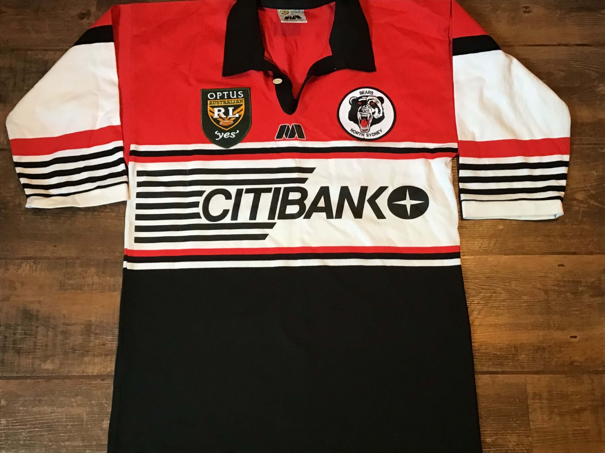 fadac38a Classic Rugby Shirts | 1998 North Sydney Bears Vintage Old League Jersey