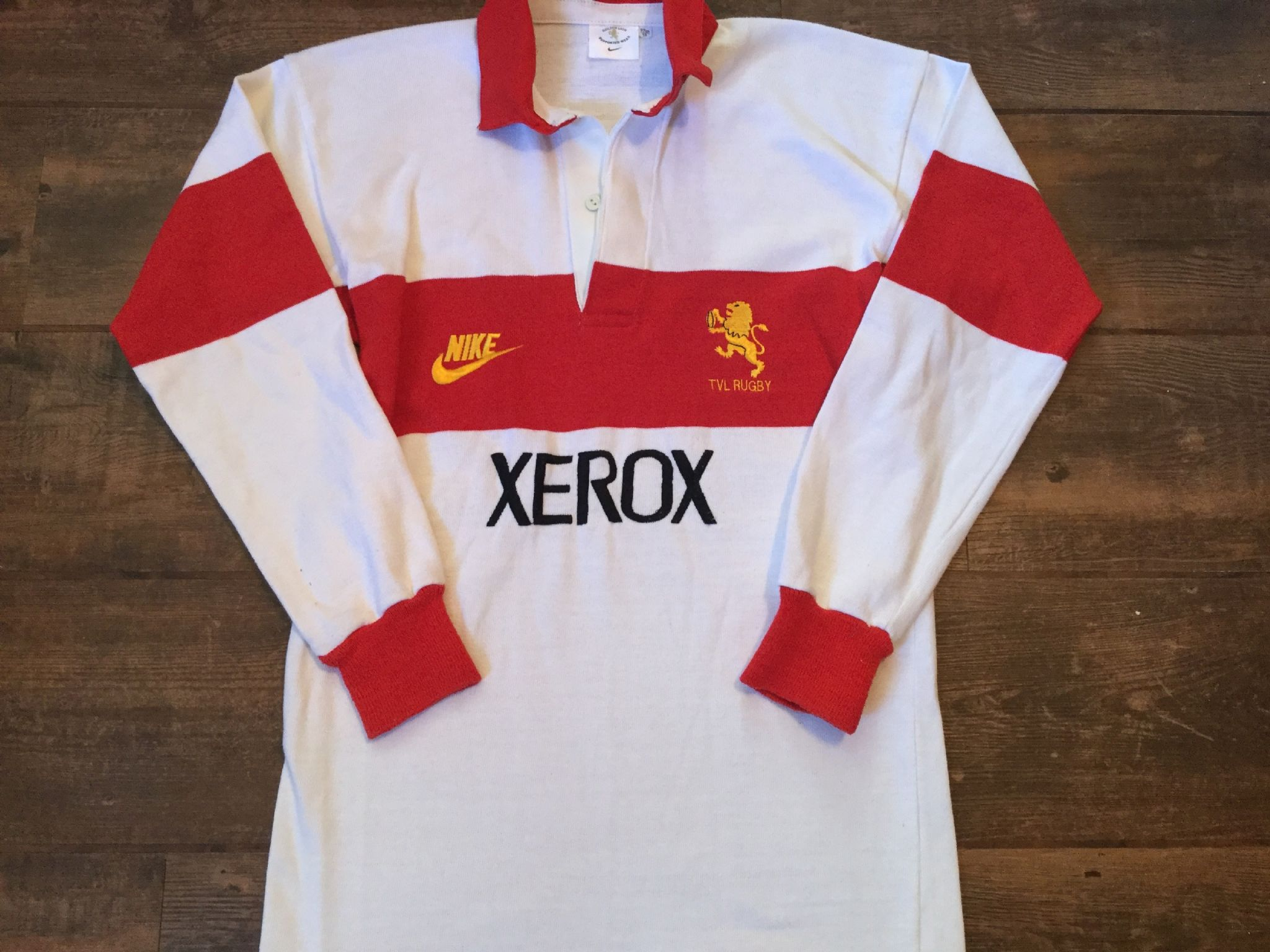 Classic <b>Rugby Shirts</b> | 1996 Transvaal Vintage Old <b>Rugby Jersey</b>