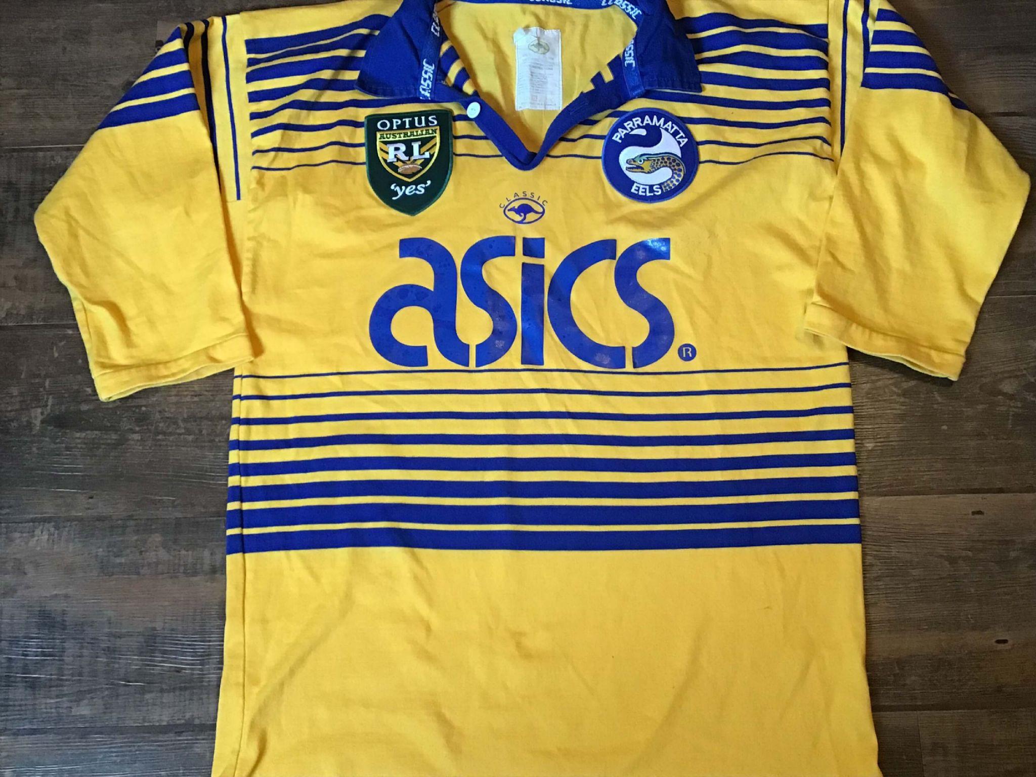 ca30151eca56 1997 Parramatta Eels Rugby League Shirt Adults XL