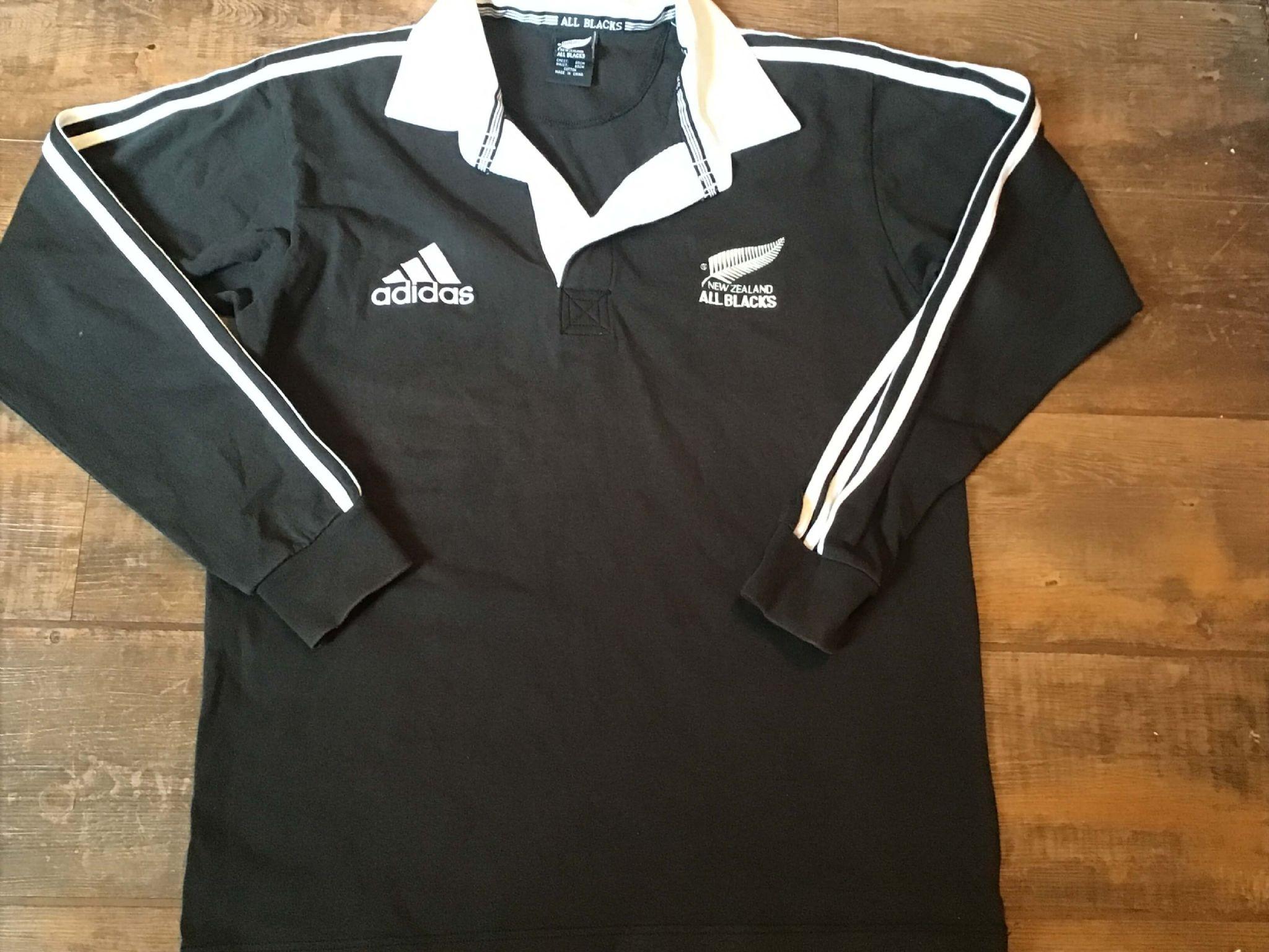 1999 2000 New Zealand Ls Rugby Union Shirt Adults Medium All Blacks