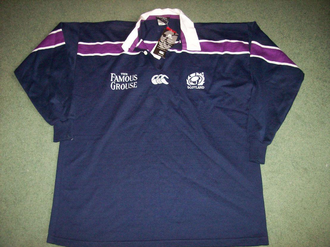 b2c8c17954e Classic Rugby Shirts 2000 Scotland Old Vintage Rugby Jerseys