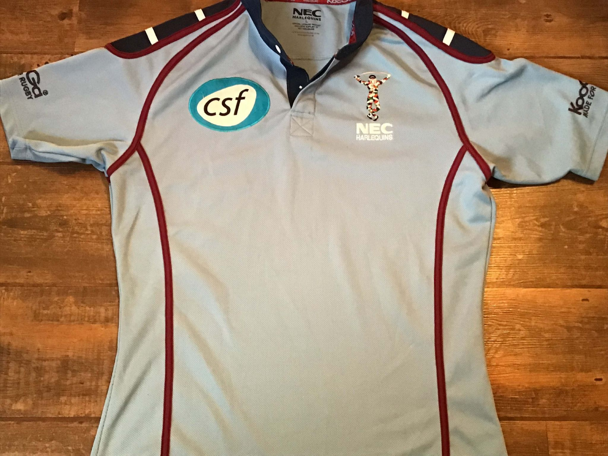 1f12ee33eb2 Classic Rugby Shirts   2003 Harlequins Vintage Old Jerseys
