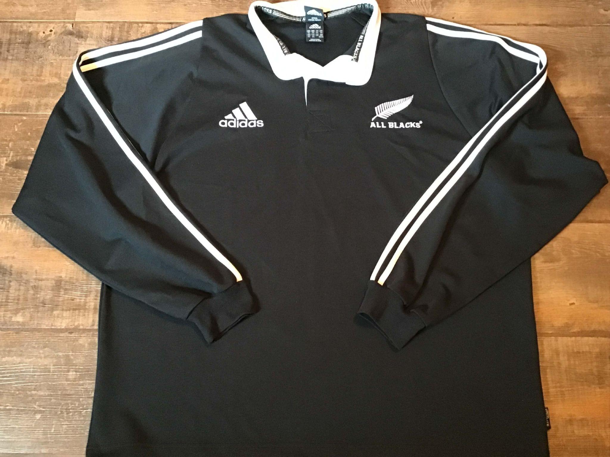 Adidas Rugby Jacke NewZeaLand 2004