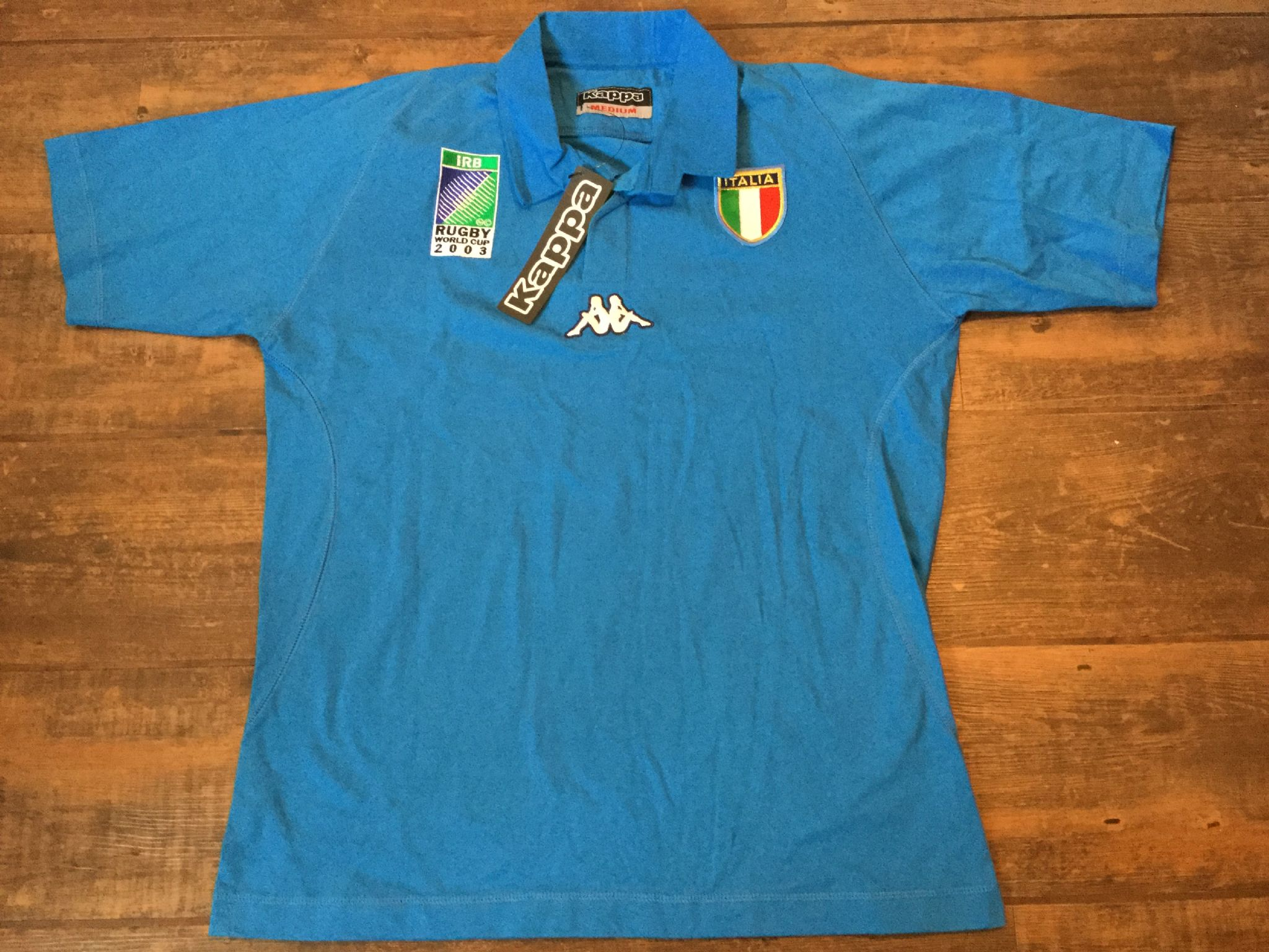 2003 Italy World Cup BNWT New Rugby Union Shirt Adults Medium 58faf71b8