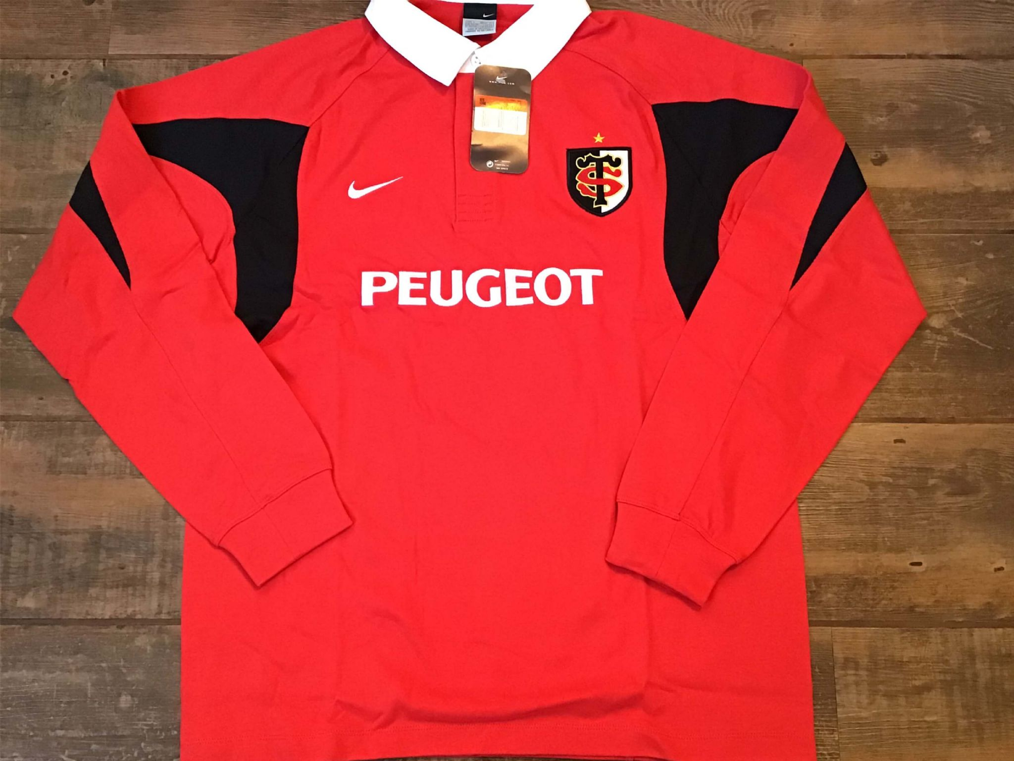 1a8cf674f7e 2005 2007 Stade Toulousain BNWT New Rugby Union Shirt Adults Large Toulouse