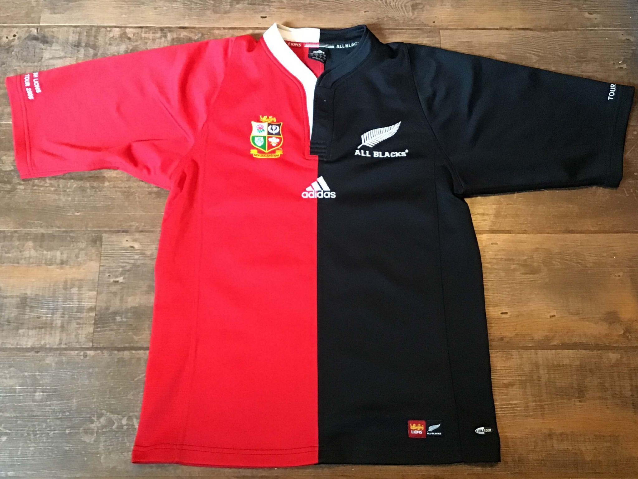 e8be90442e6 2005 British & Irish Lions New Zealand Ltd Edition Rugby Union Shirt Adults  Small All Blacks