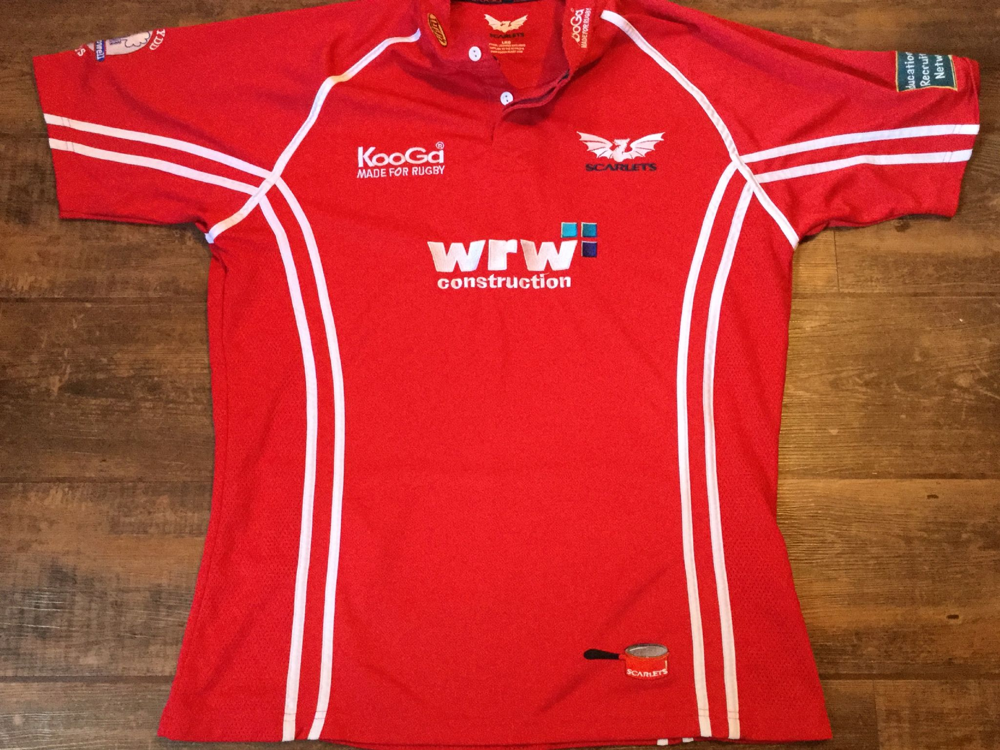 44d0757ed28 Classic Rugby Shirts | 2006 Llanelli Scarlets Vintage Old Jersey