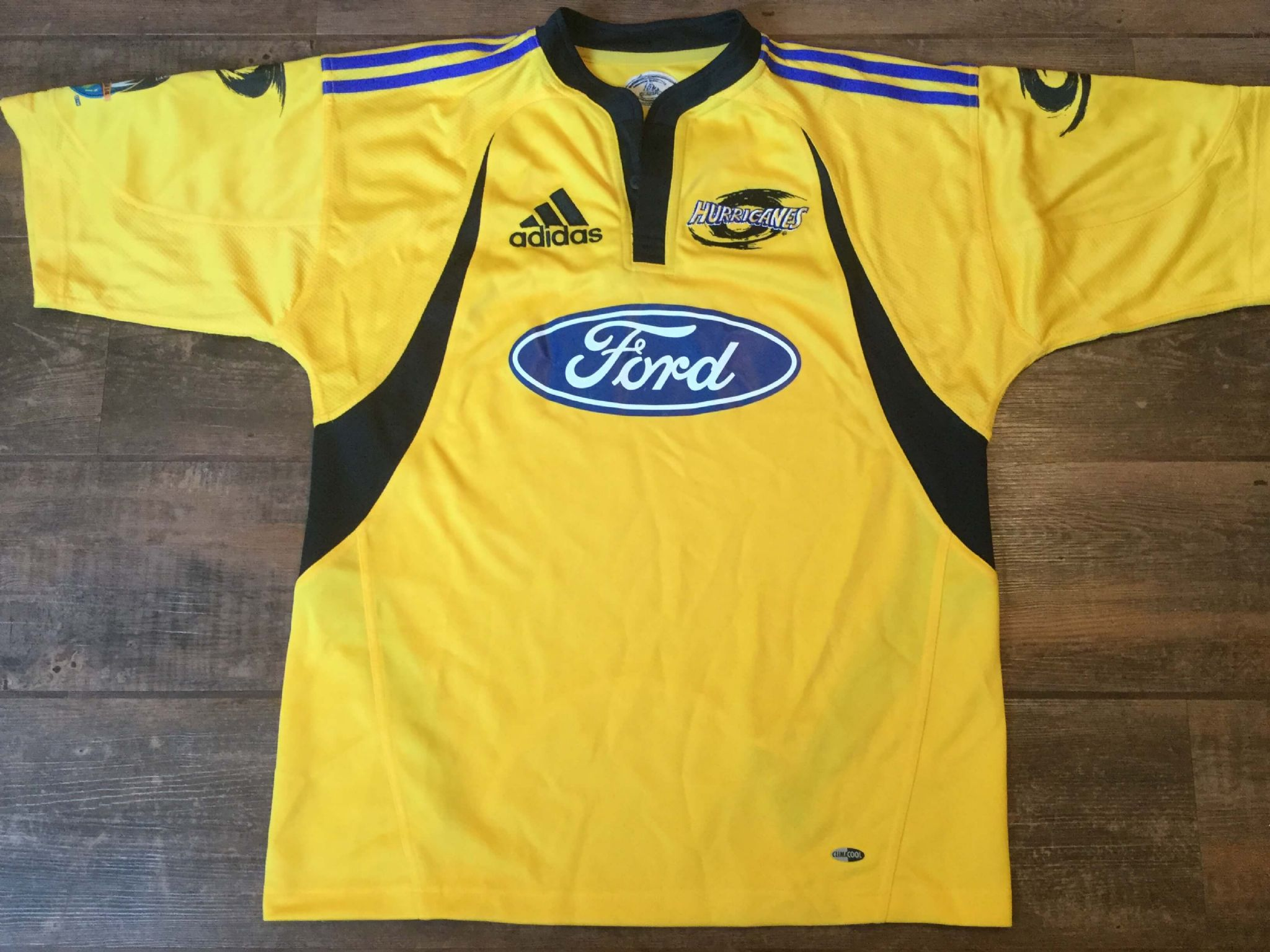 10ebeff9f69 Classic Rugby Shirts | 2007 Hurricanes Vintage Old Jerseys