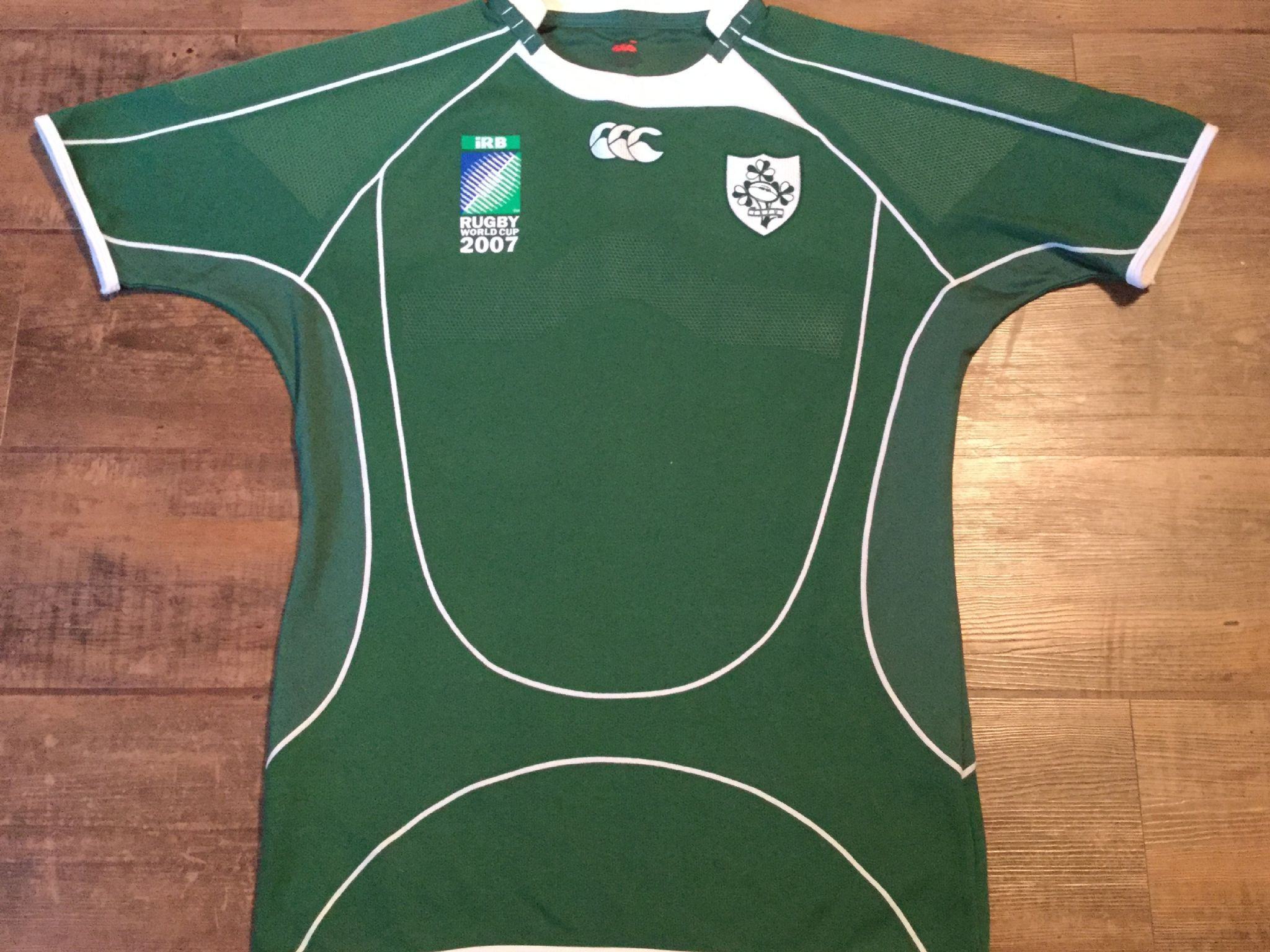 Classic Rugby Shirts 2007 Ireland Old Vintage Jerseys Retro