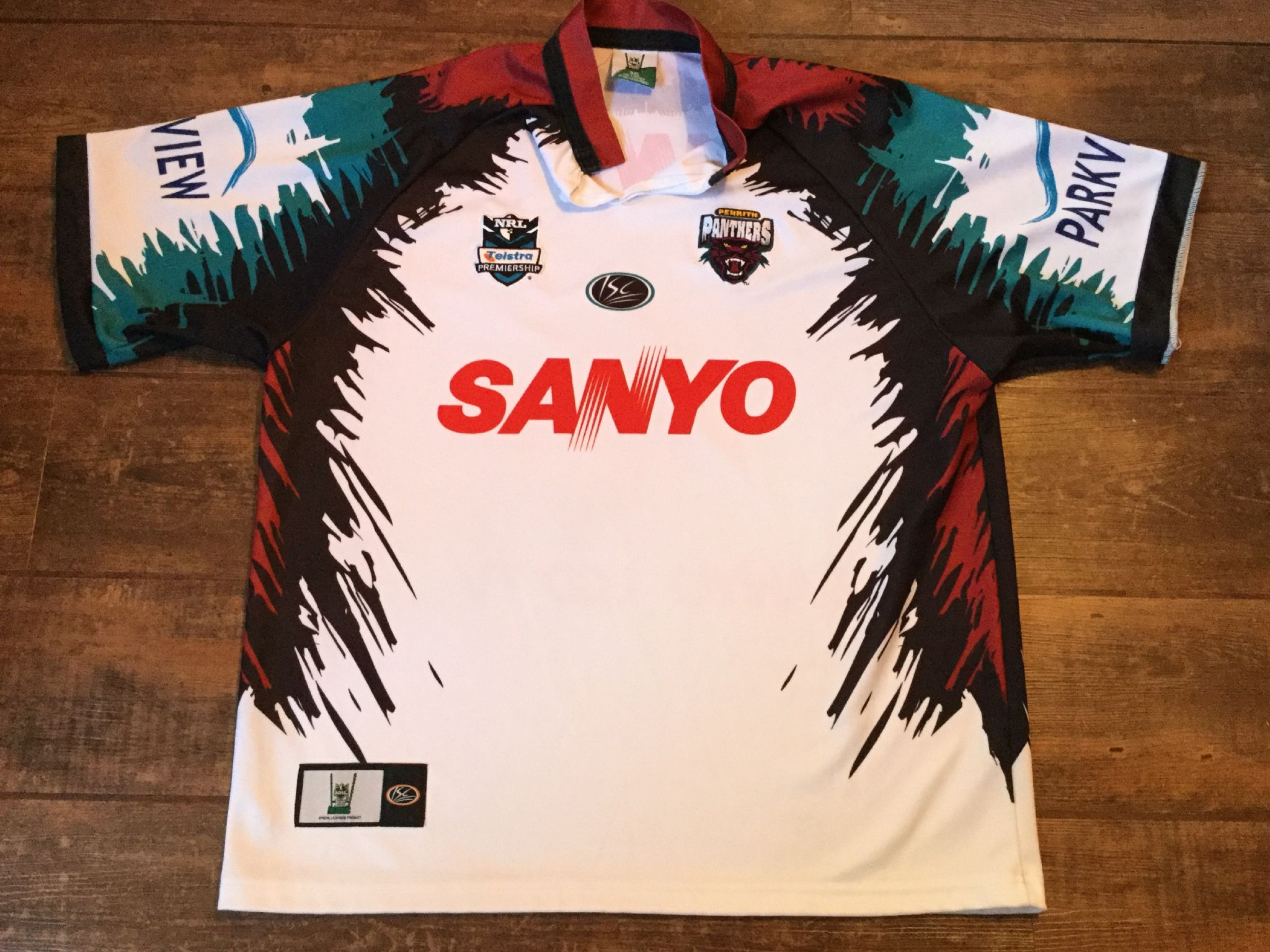 super popular 78a70 d4dff Classic Rugby Shirts | 2007 Penrith Panthers Vintage Old NRL ...