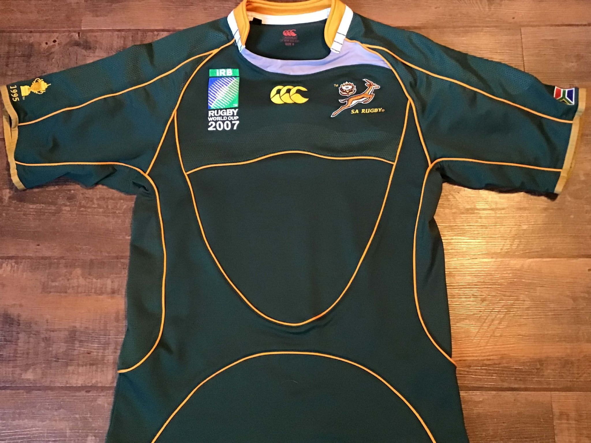 huge discount f61bd a735c Classic Rugby Shirts   2007 Springboks Vintage Old Retro Jerseys