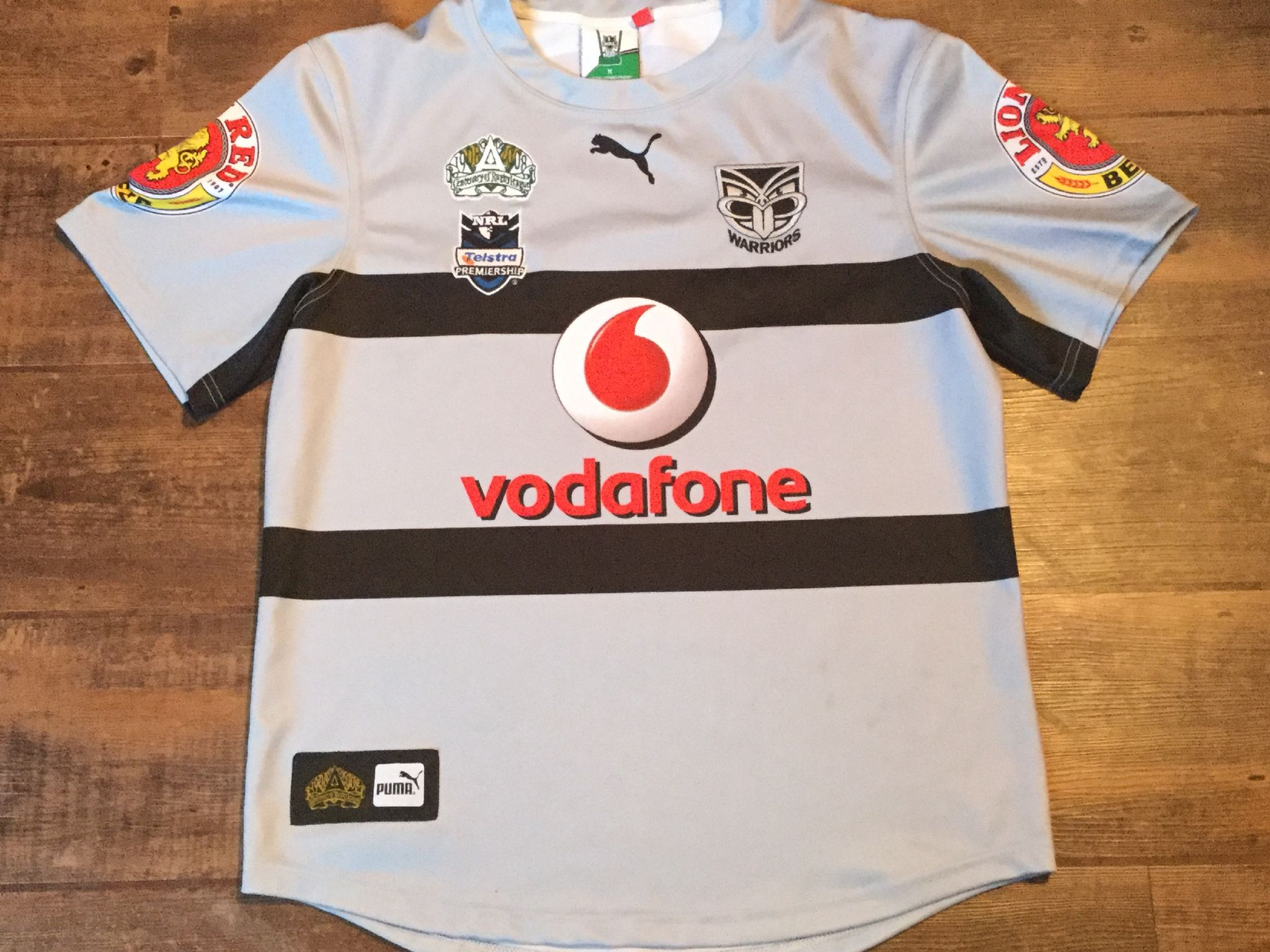 timeless design 125a5 7ef3e Classic Rugby Shirts | 2008 New Zealand Warriors Vintage Old ...