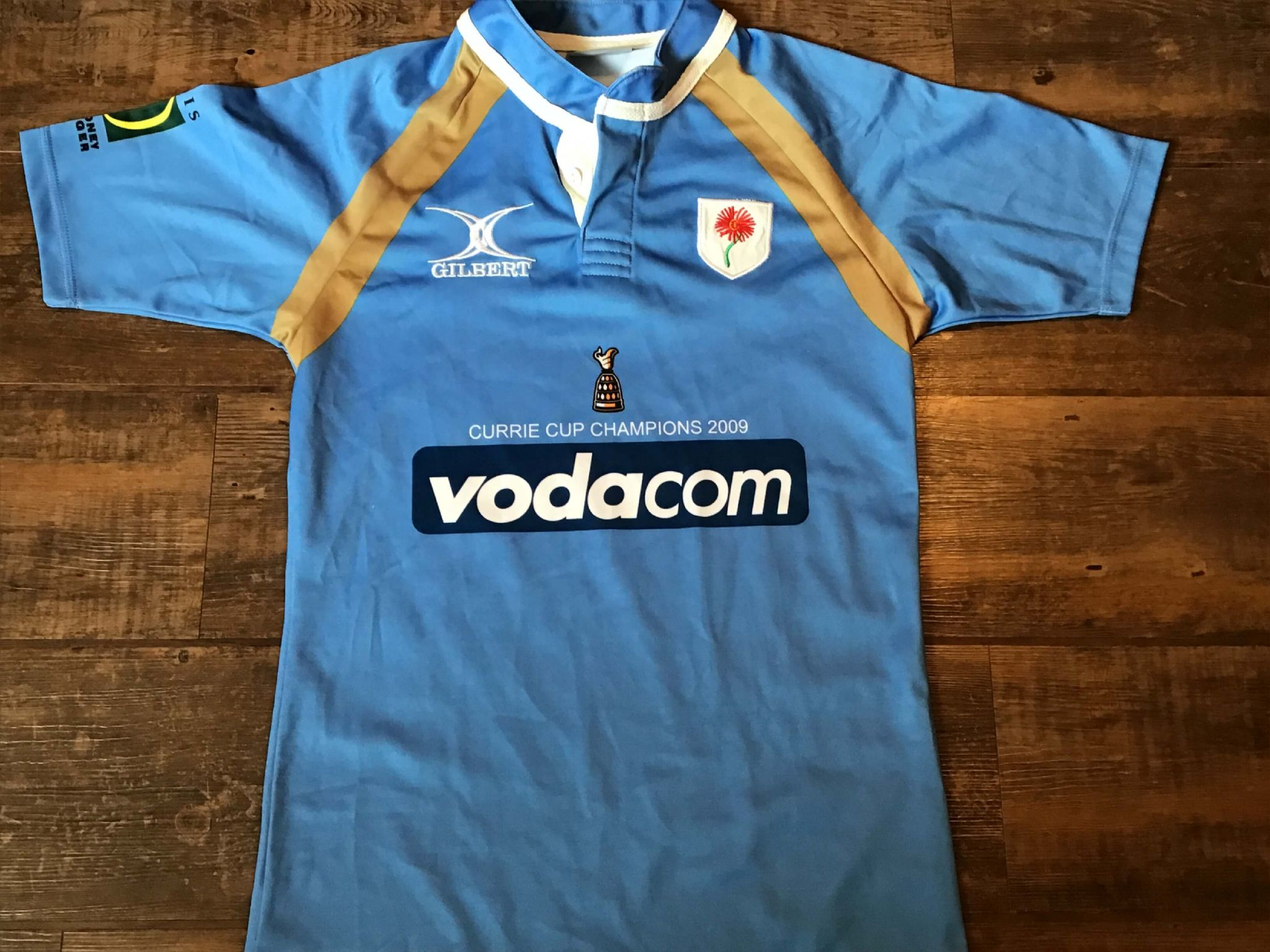 775b3022fec 2009 Blue Bulls Currie Cup Champions Rugby Union Shirt Adults Small