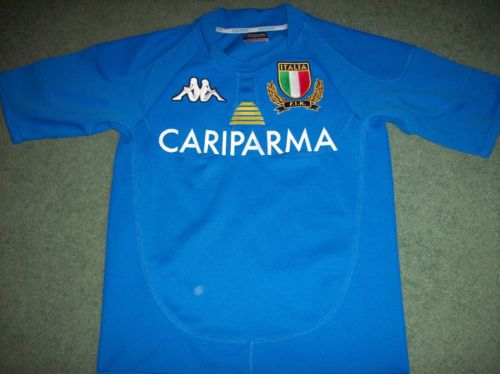 2010 2011 Italy Rugby Union Shirt Adults Small