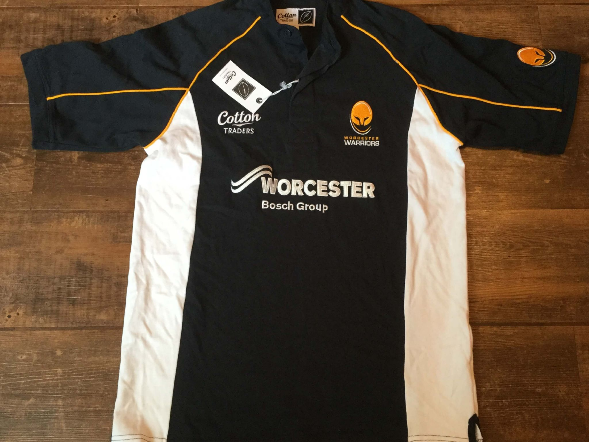 newest collection aef96 8aefd Classic Rugby Shirts | 2010 Worcester Warriors Vintage Old ...