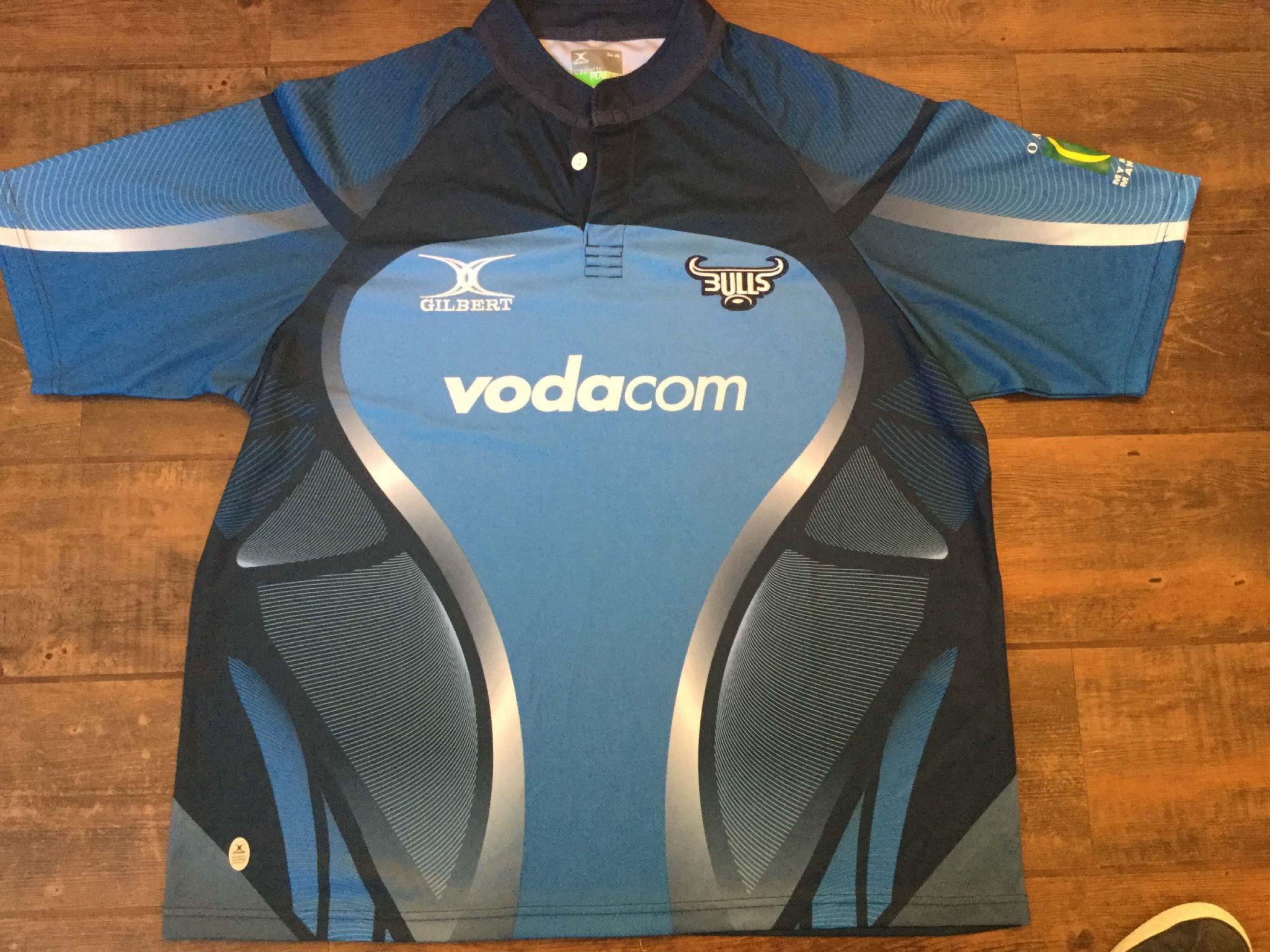 741c44e2f06 2010 Vodacom Blue Bulls Super 15 Rugby Union Shirt Adults 3XL XXXL
