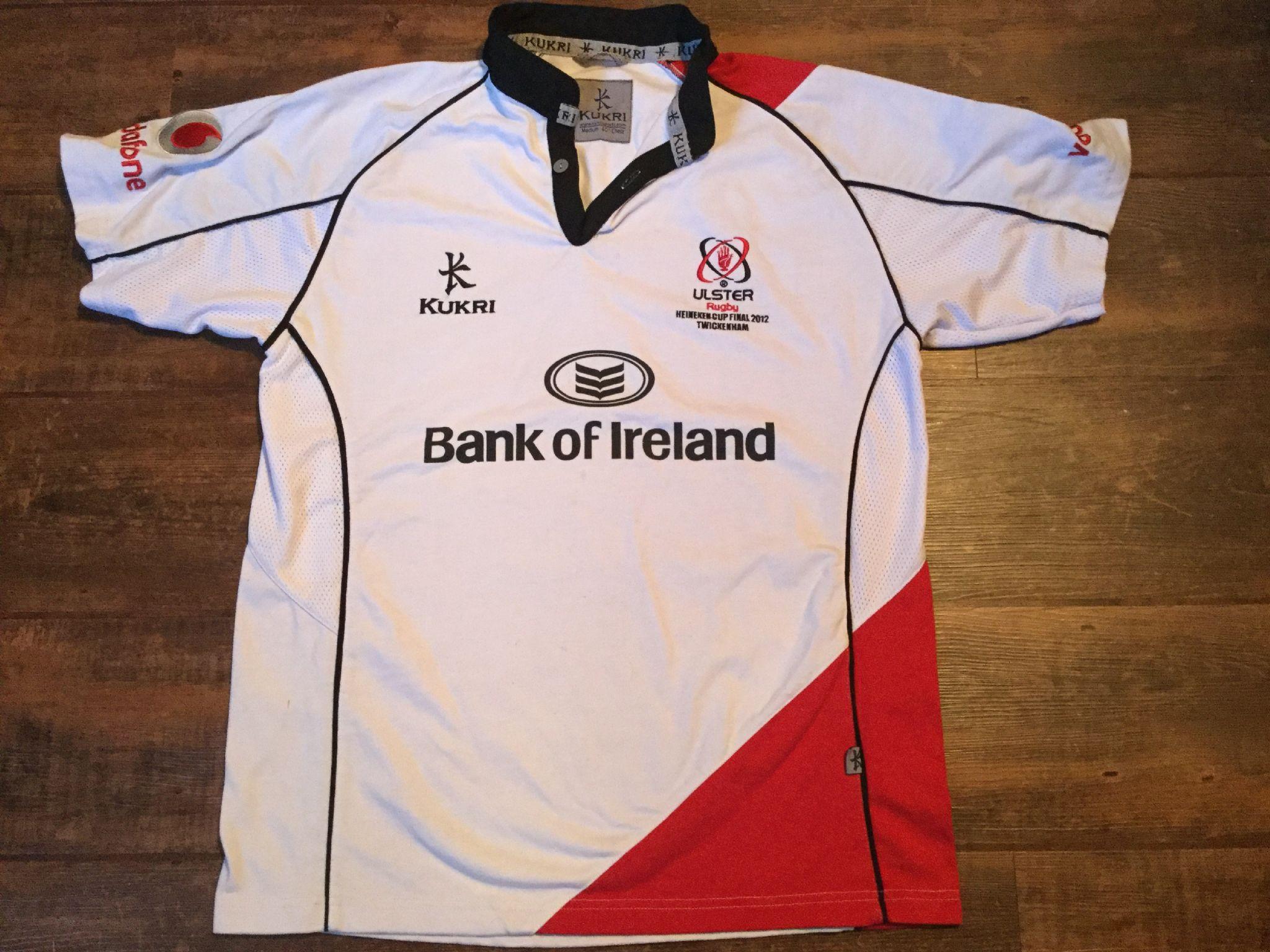 fbfdd52e357 2011 2012 Ulster Heineken Cup Final Rugby Union Shirt Adults Medium