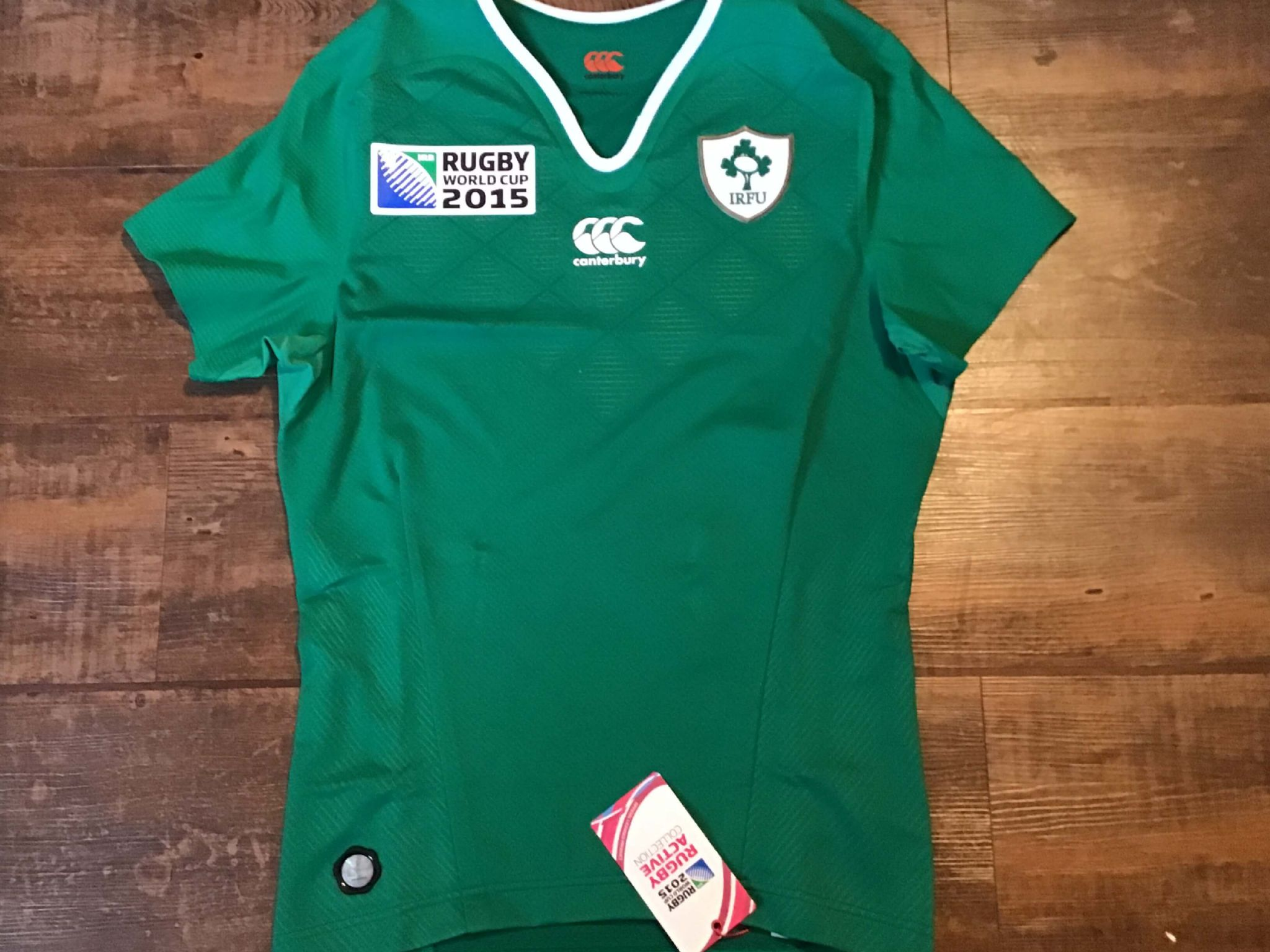Official Canterbury Harlequin Rugby World Cup 2015 Rugby Shirt Jersey S BNWT