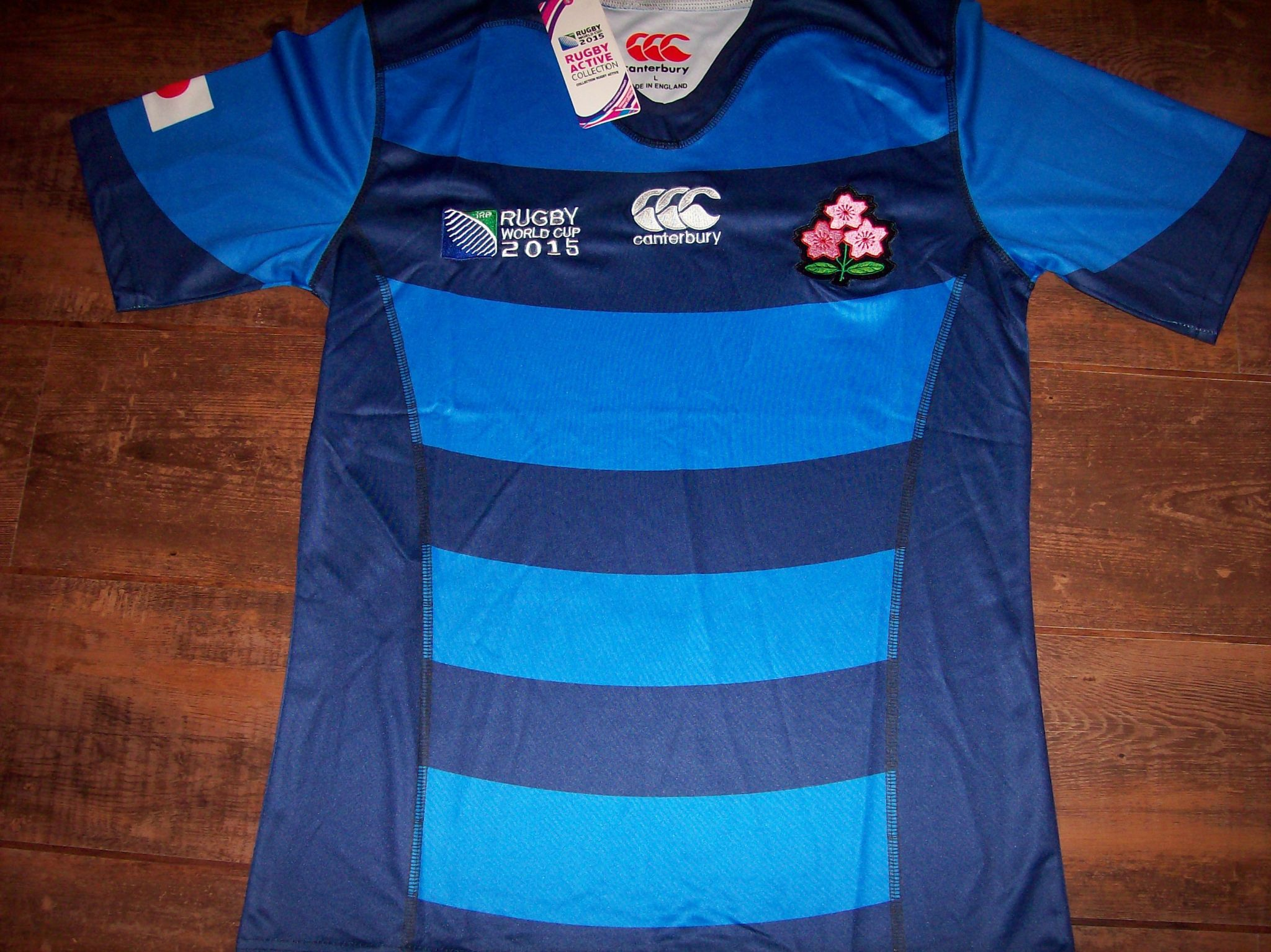 lowest price 82e3d 5b6f4 2015 Japan BNWT New World Cup Rugby Union Away Shirt Adults Large RWC
