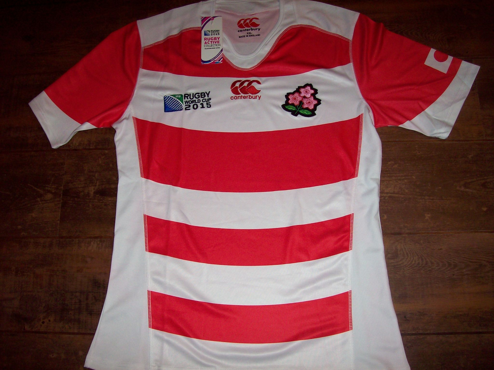 100% authentic 3df07 814c9 Classic Rugby Shirts | 2015 Japan World Cup Vintage Jersey